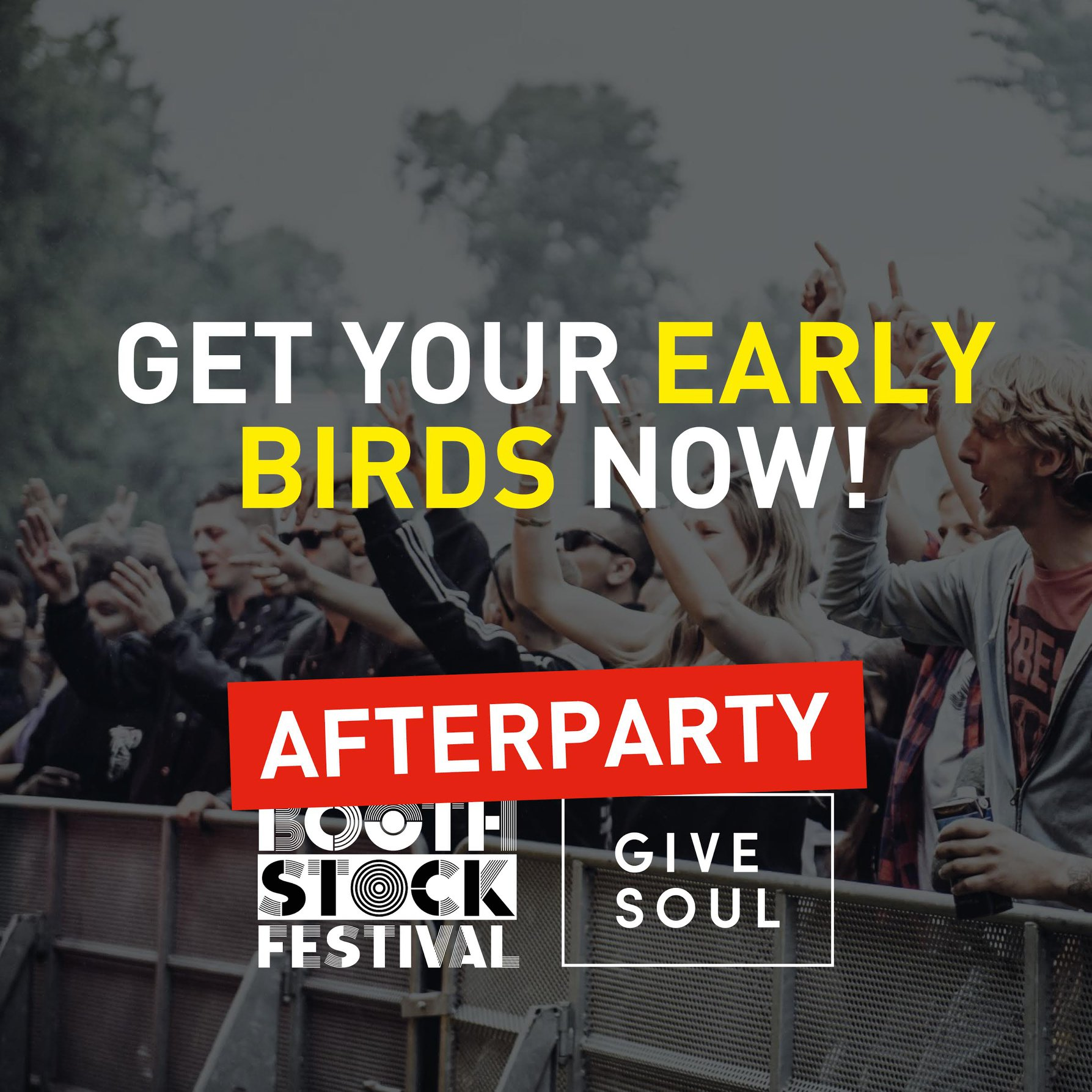 AFTERPARTY TICKETS NOW ON SALE