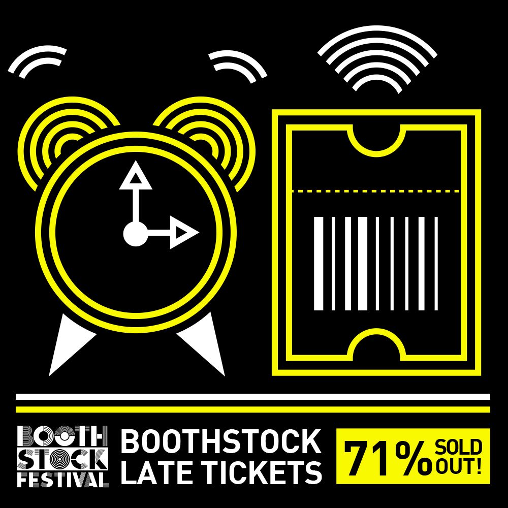 BOOTHSTOCK ALMOST SOLD OUT